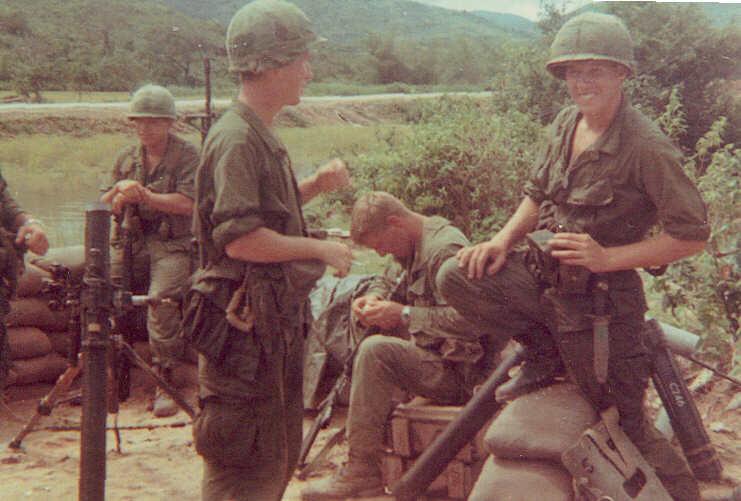 Vietnam Mortar Fire : New duties in vietnam st battalion th infantry us army