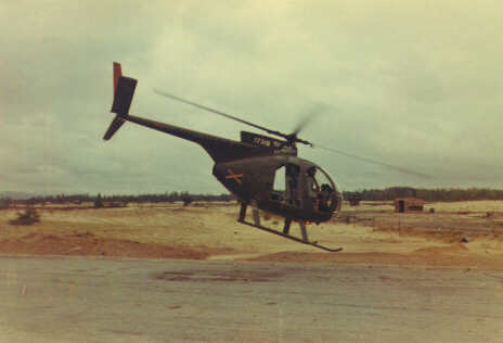 Army Aircraft & OH-6A Light Observation Helicopter, D/1-1Cav