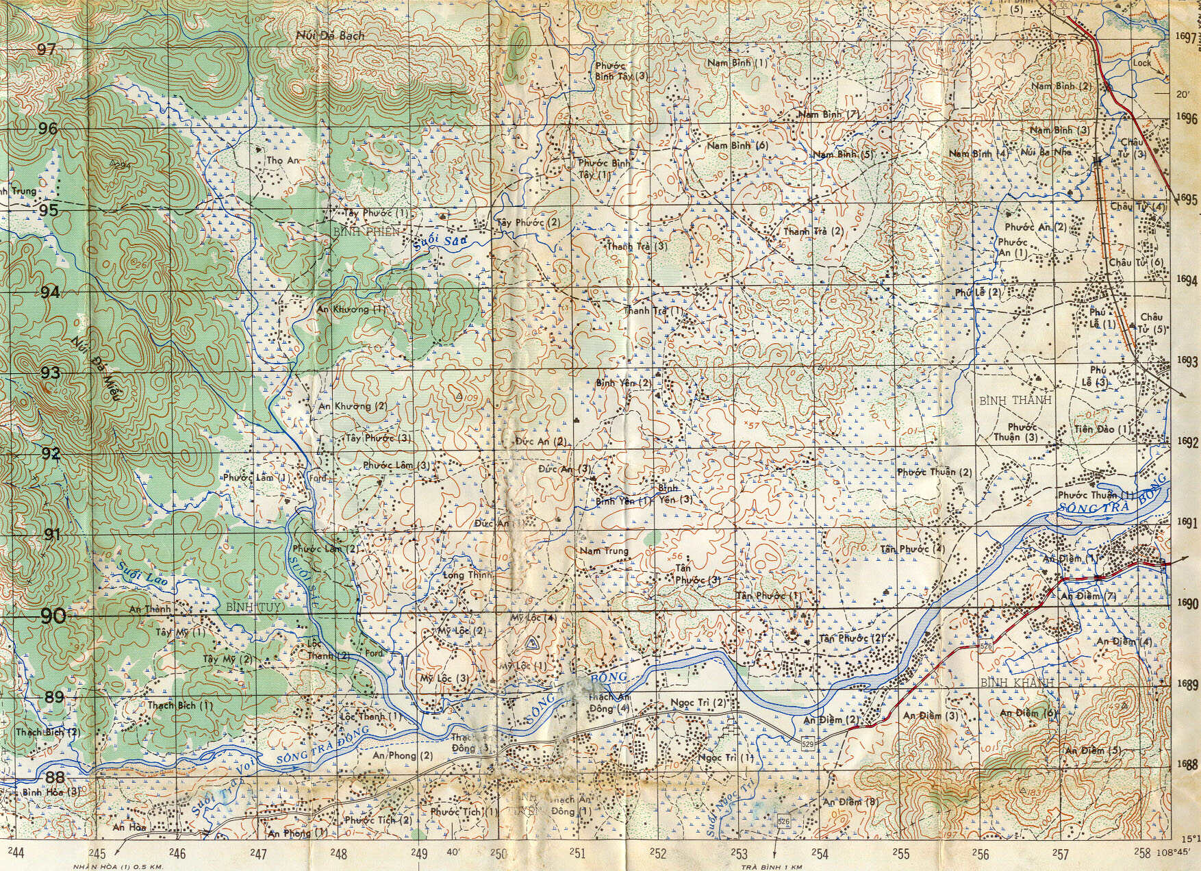 Map Information and Selection, 1st Battalion 6th Infantry