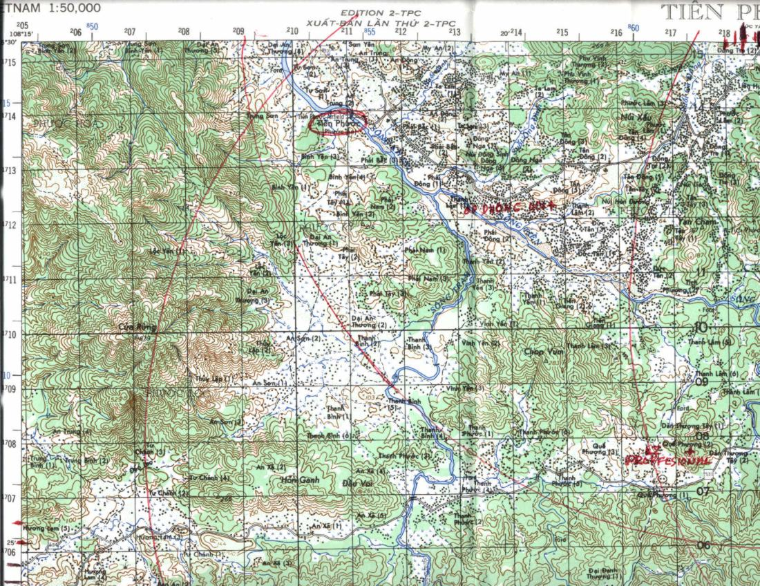 Map Information and Selection, 1st Battalion 6th Infantry, US Army