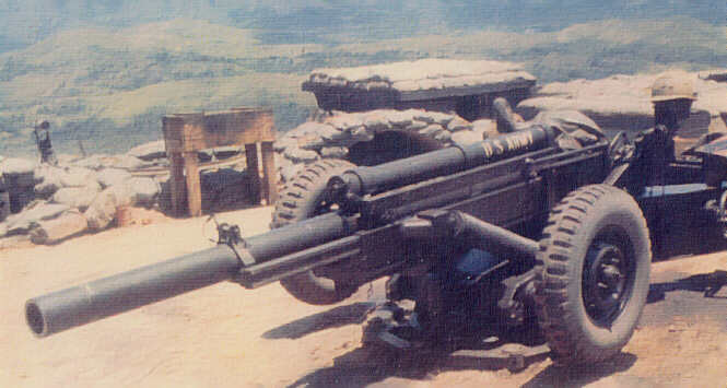 Howitzer M101A1 or M102   M102 Howitzer