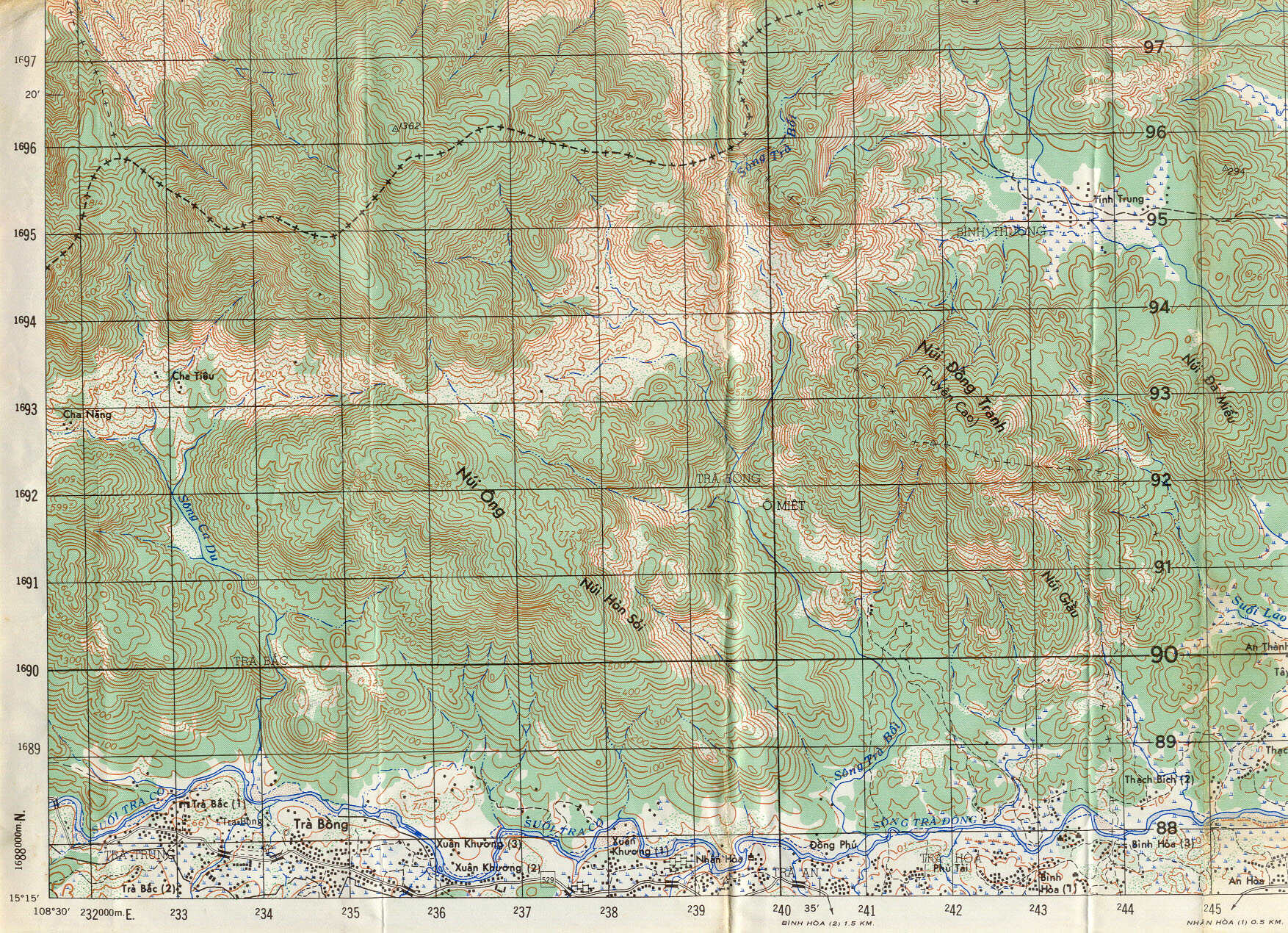 Map Information and Selection, 1st Battalion 6th Infantry ... on latitude map of vietnam, relief map of vietnam, climate map of vietnam, population density map of vietnam,